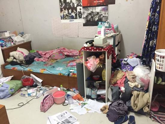 ห้องสกปรก