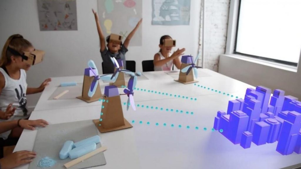 การเรียนรูปแบบใหม่ Virtual reality and augmented reality