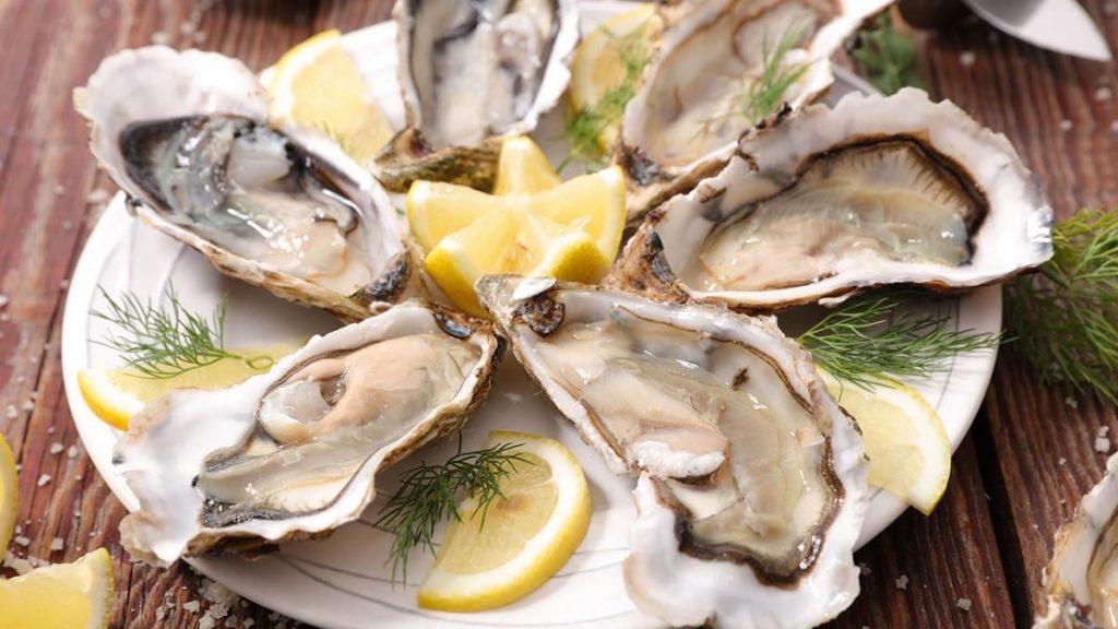 อาหารบำรุงสมอง หอยนางรม