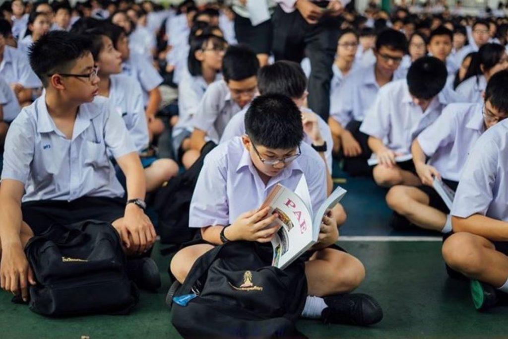 การสอบเข้าโรงเรียนเตรียม ที่เด็กต้องมีวินัยในการอ่านหนังสือ